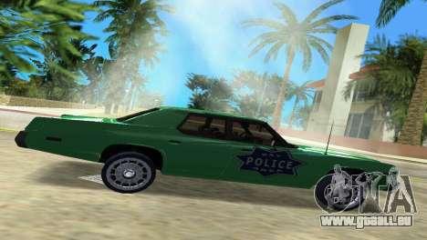 Dodge Monaco Police pour une vue GTA Vice City de la gauche