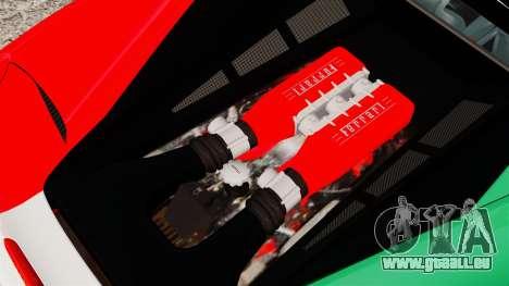 Ferrari 458 Italia 2010 Italian für GTA 4 Innenansicht