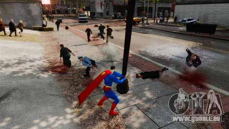 Skript für Superman für GTA 4 achten Screenshot