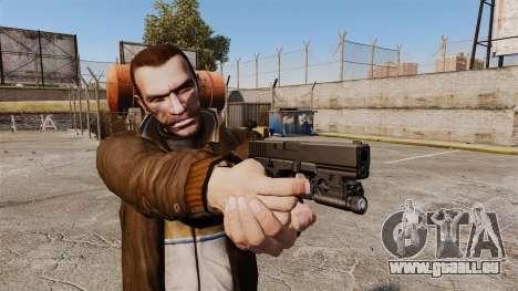 Pistolet Glock 20 pour GTA 4 secondes d'écran