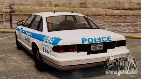 Montreal Polizei v1 für GTA 4 hinten links Ansicht