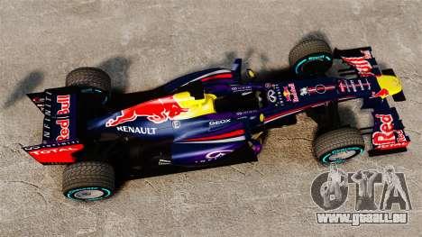 Auto, Red Bull RB9 v1 für GTA 4 rechte Ansicht