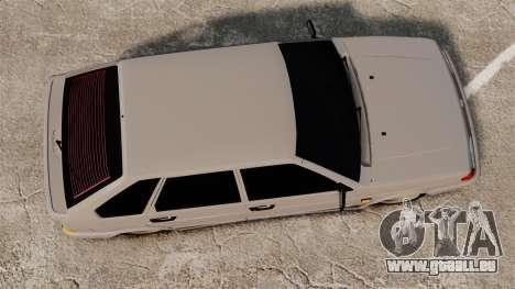 VAZ-2114-Bunker für GTA 4 rechte Ansicht