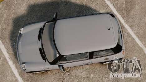 Mini Cooper S 2008 v2.0 für GTA 4 rechte Ansicht