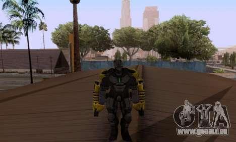 Skins Pack - Iron man 3 pour GTA San Andreas troisième écran