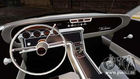 Ford Thunderbird 1964 für GTA 4 Innenansicht