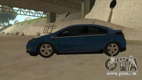 Chevrolet Volt 2011 [ImVehFt] v1.0 pour GTA San Andreas sur la vue arrière gauche