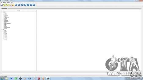 Alcis SAAT GUI FrontEnd 1.0 pour GTA San Andreas