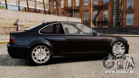 BMW M3 Coupe E46 pour GTA 4 est une gauche