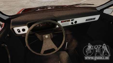 Dacia 1310 Sport v1.1 pour GTA 4 est une vue de l'intérieur