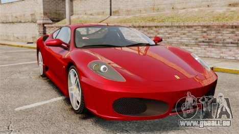 Ferrari F430 2005 pour GTA 4