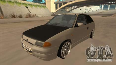 Opel Astra F DRP pour GTA San Andreas