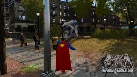 Skript für Superman für GTA 4 Sekunden Bildschirm