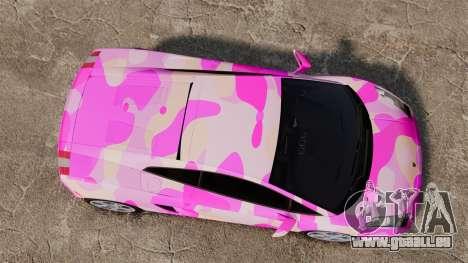 Lamborghini Gallardo 2005 [EPM] Pink Camo für GTA 4 rechte Ansicht