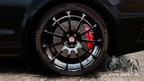 Mercedes-Benz C63 AMG BSAP (C204) 2012 für GTA 4 Rückansicht