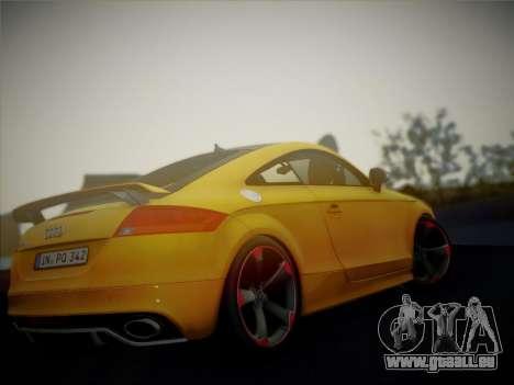 Audi TT RS 2013 pour GTA San Andreas vue de droite