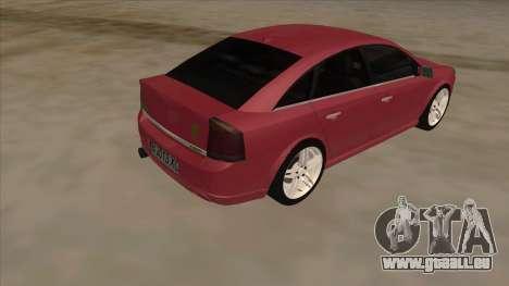 Opel Vectra C Irmscher für GTA San Andreas rechten Ansicht