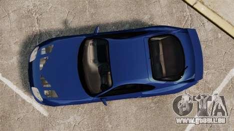 Toyota Supra MKIV TRD 1995 pour GTA 4 est un droit