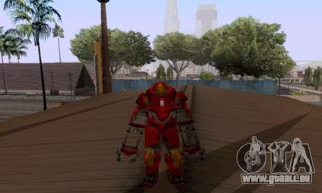 Skins Pack - Iron man 3 pour GTA San Andreas sixième écran