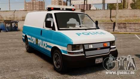 LCPD Police Van für GTA 4