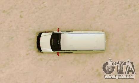 Renault Kangoo für GTA San Andreas Seitenansicht