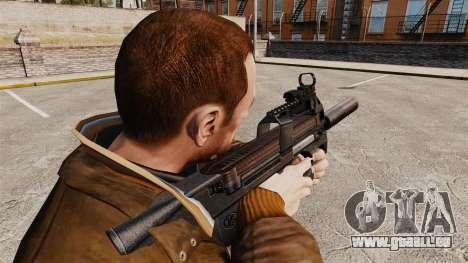 Belgische FN P90 Maschinenpistole v1 für GTA 4 Sekunden Bildschirm