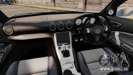 Nissan Silvia S15 v3 für GTA 4 Rückansicht