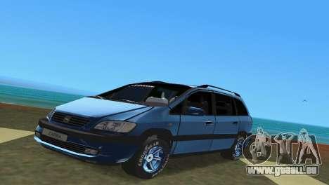 Opel Zafira pour GTA Vice City