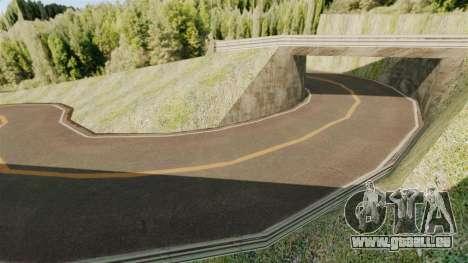 Nouvel emplacement Hakone pour GTA 4 quatrième écran