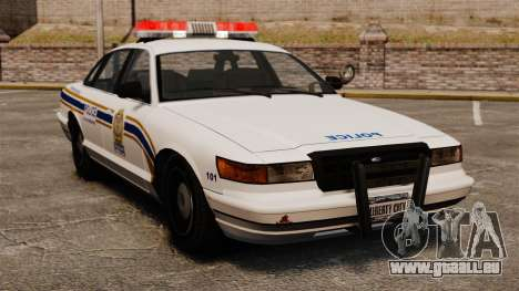 Police de Sherbrooke pour GTA 4