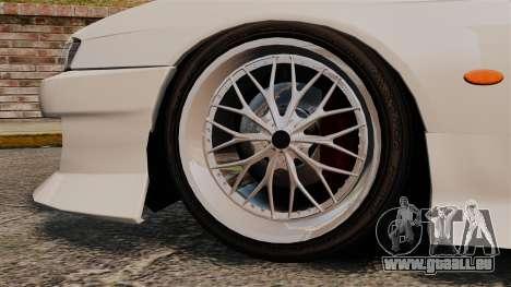 Nissan Silvia S14 für GTA 4 rechte Ansicht