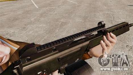 Fusil d'assaut MG36 H & K v2 pour GTA 4 quatrième écran