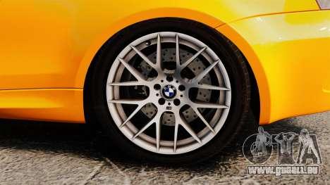 BMW 1M Coupe 2011 Fujiwara Tofu Shop Sticker für GTA 4 Innenansicht