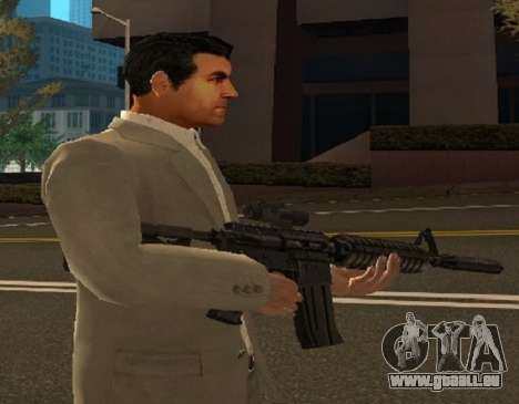 Michaels Haut von GTA V für GTA San Andreas dritten Screenshot