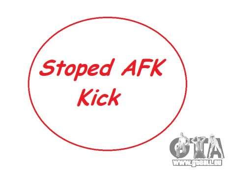 AntiAFK Bot 2.1.6 by Ruskadanace pour GTA San Andreas