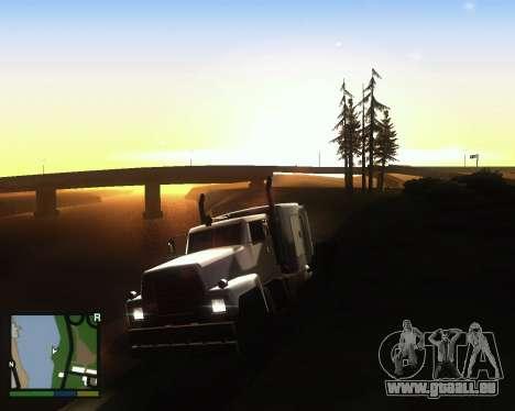 ENB for low PC für GTA San Andreas zweiten Screenshot