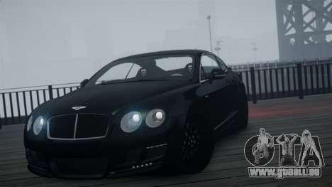 Bentley Continental GT Hamann Imperator pour GTA 4 est un droit