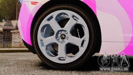 Lamborghini Gallardo 2005 [EPM] Pink Camo für GTA 4 Rückansicht