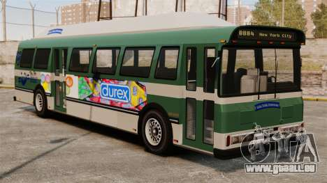 La nouvelle publicité sur le bus pour GTA 4