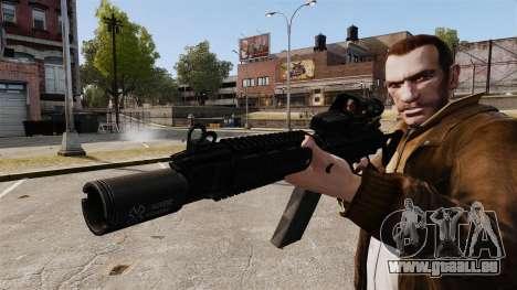 FN FAL DSA pour GTA 4 quatrième écran