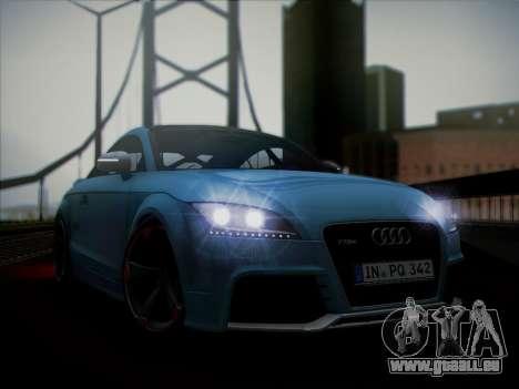 Audi TT RS 2013 pour GTA San Andreas sur la vue arrière gauche