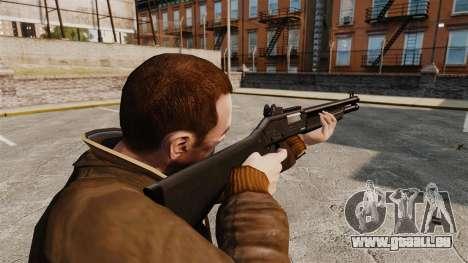 Tactique fusil de chasse Fabarm SDASS Forces Pro pour GTA 4 secondes d'écran