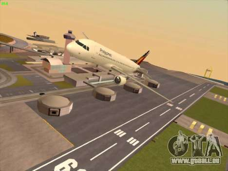 Airbus A320-211 Philippines Airlines für GTA San Andreas