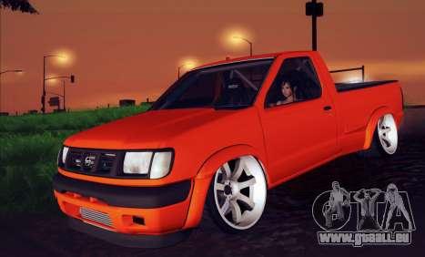 Nissan Frontier D22 für GTA San Andreas rechten Ansicht