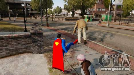 Script pour Superman pour GTA 4 troisième écran