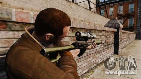 Dragunov Scharfschütze-Gewehr-v3 für GTA 4 Sekunden Bildschirm