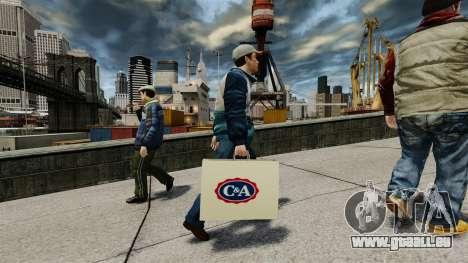 Paquet C & A pour GTA 4