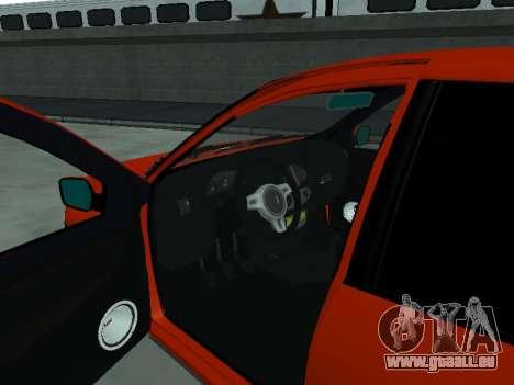 VAZ 2190 für GTA San Andreas Rückansicht