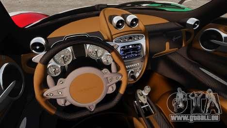 Pagani Huayra 2011 [EPM] Italian pour GTA 4 Vue arrière de la gauche