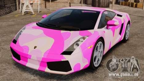 Lamborghini Gallardo 2005 [EPM] Pink Camo pour GTA 4